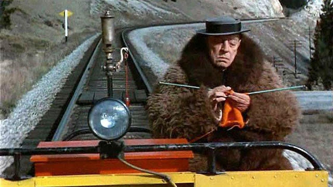 Rälsenären, Buster Keaton Rides Again, Film