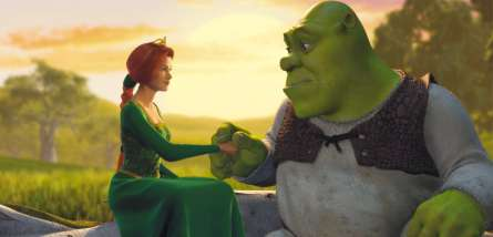 Shrek fantastiskt bra