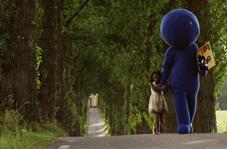 Den blå mannen. Foto:Crazy Pictures
