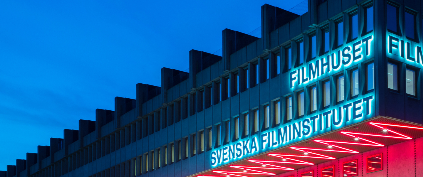Filmhuset by night